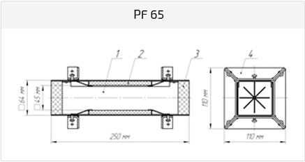 Рамка PF 65