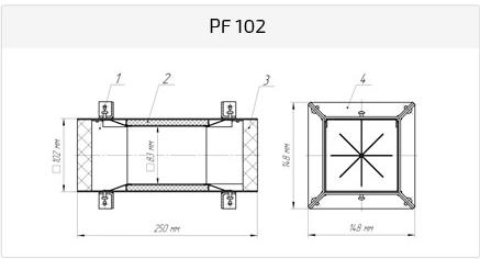 Рамка PF 102