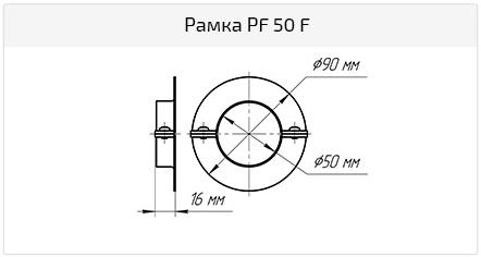 Рамка PFC 50 F