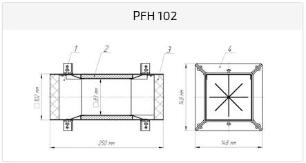 Рамка PFH 65