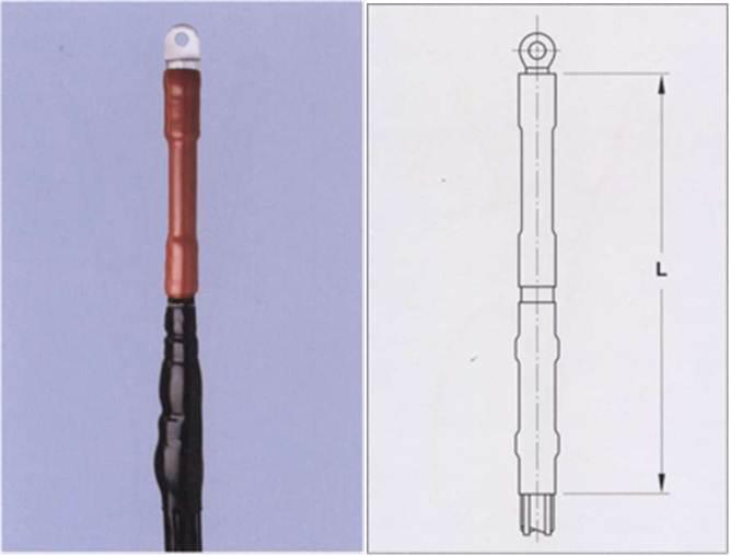 Концевые муфты для одножильных кабелей с пластмассовой и бумажной изоляцией (MI и MIND) на напряжение до 1 кВ постоянного тока
